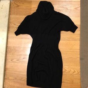 Ann Taylor Loft black sweater dress